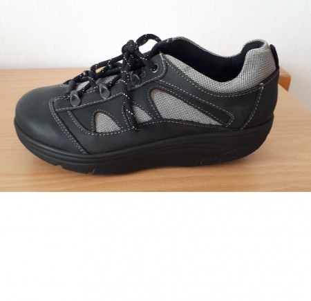 01637c6c247f WEB balanse sneaker sort grå damer