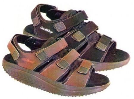 1ccf9d9e Sorte balanse/rulle sandaler for herrer